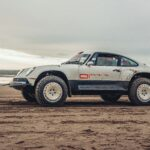 Porsche 911 Restored by Singer ACS Covered In Sand